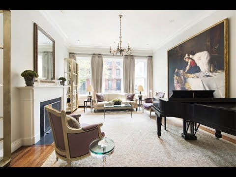 Historic Queen-Anne-Style 1887 Townhouse in New York, New York