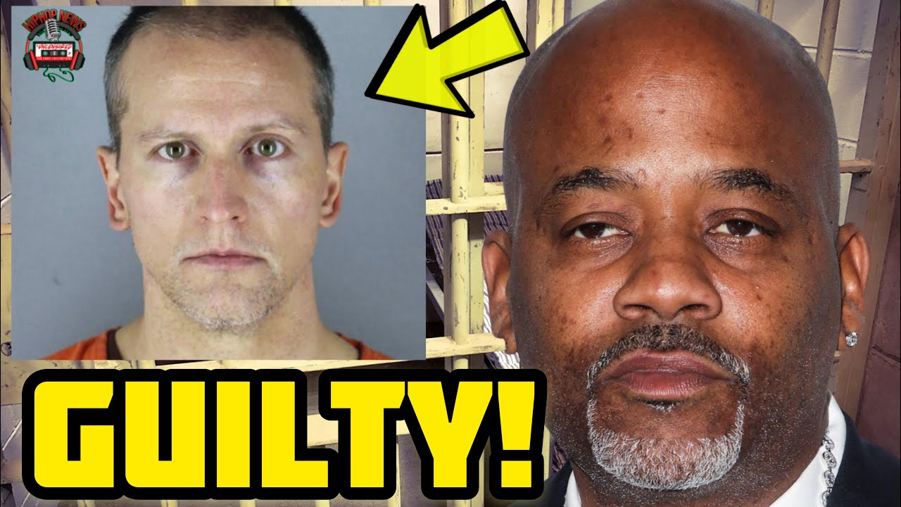 BREAKING: Dame Dash Reacts To Derek Chauvin Being Convicted For The Death Of George Floyd!