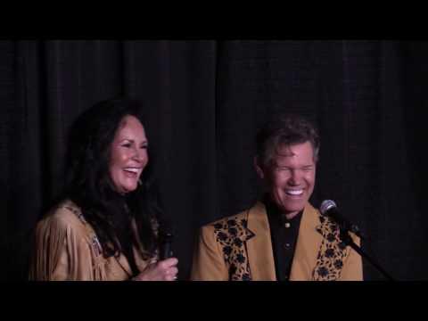 Randy Travis & Mary Davis Travis Press Conference