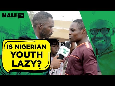 Nigerian youths reply to President Buhari over 'lazy' comment
