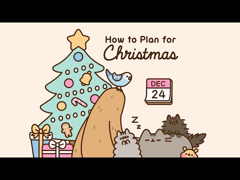 Pusheen: How To Plan For Christmas