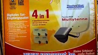 Verkoop, advies, installatie en plaatsing van Satelliet, Coax en HDMI systemen - Spacenet.be