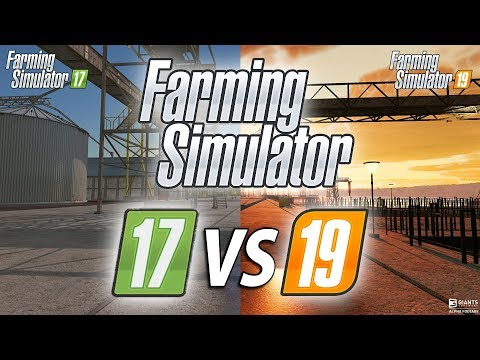 Farming Simulator 17 vs 19 Graphics Comparison thumbnail