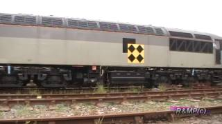 Prototype HST 41001 1st Test Train Run 2014