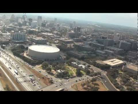 The Frank Erwin Center Austin REALTOR® Perry Henderson MBA Helicopter Tour