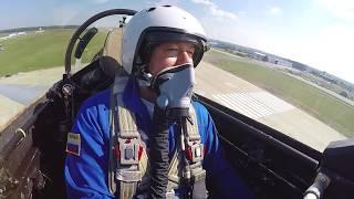 Лётчик-испытатель Михаил Беляев в Навигаторе