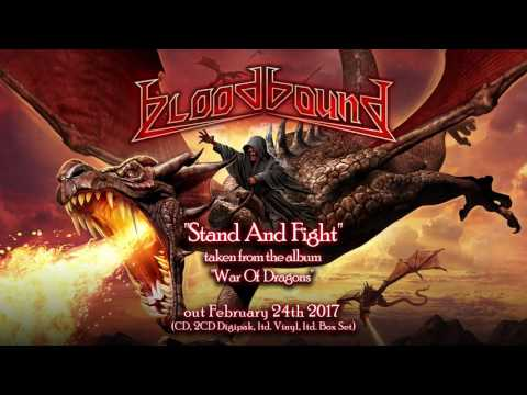 BLOODBOUND - Stand And Fight (2017) // official audio video // AFM Records