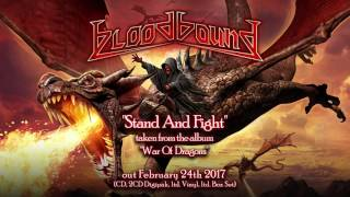 BLOODBOUND - Stand And Fight (2017) // Official Audio // AFM Records