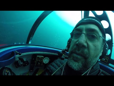 Javier Bardem dives with Greenpeace in Antarctic Ocean
