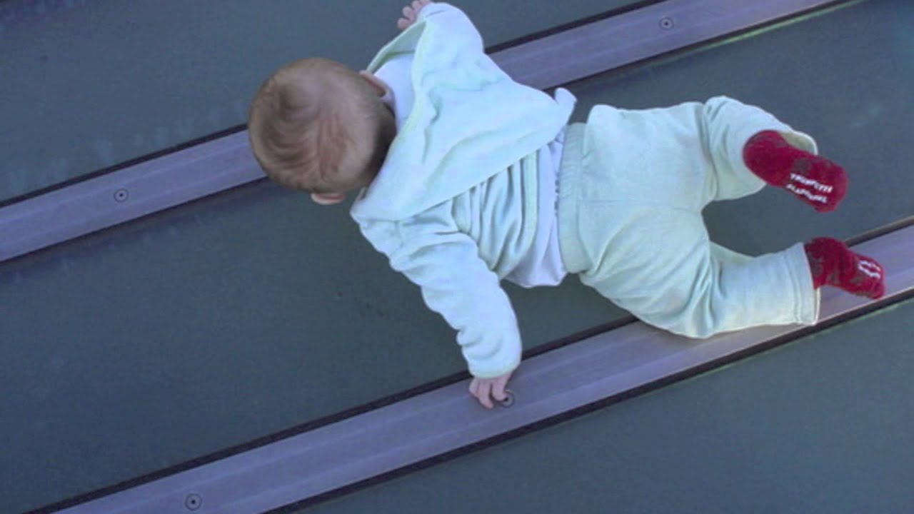 BABY FALLS OFF BUILDING!!! *WARNING* - YouTube
