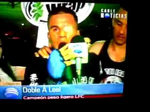 PANDERO VS DOBLE A LEAL Videos De Viajes