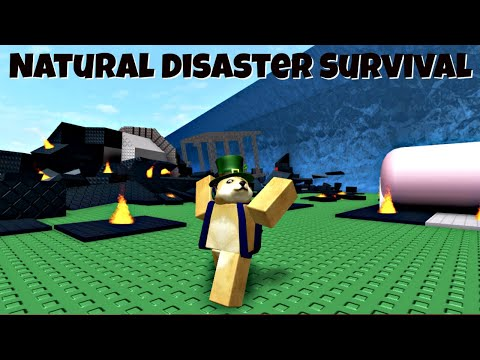 Roblox Natural Disaster Survival Funny Moments