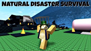 1000 IQ ROBLOX NATURAL DISASTER SURVIVAL GAMEPLAY