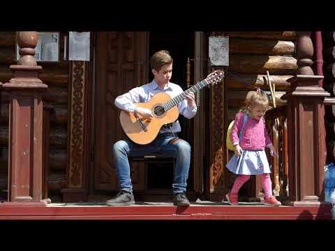 """Никита Кошкин. Галоп из сюиты """"Эльфы"""". Исполняет Андрей Логинов, классическая гитара"""