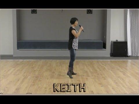 KEITH Line Dance Walkthrough