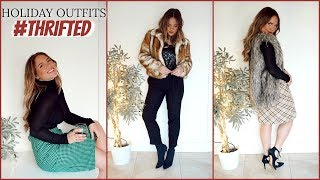HOLIDAY OUTFITS UNDER £50 | Thrift Store Edition | Elanna Pecherle 2018