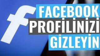 Facebook Profilini Aramalara Kapatmak Gizlemek
