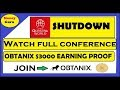 Questra Shutdown Conference ll $3000 Earning Proof in Obtanix Join Now