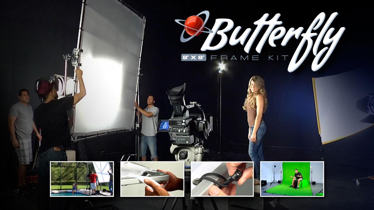 Digital Juice 8 X 8 Butterfly Frame Kit Youtube
