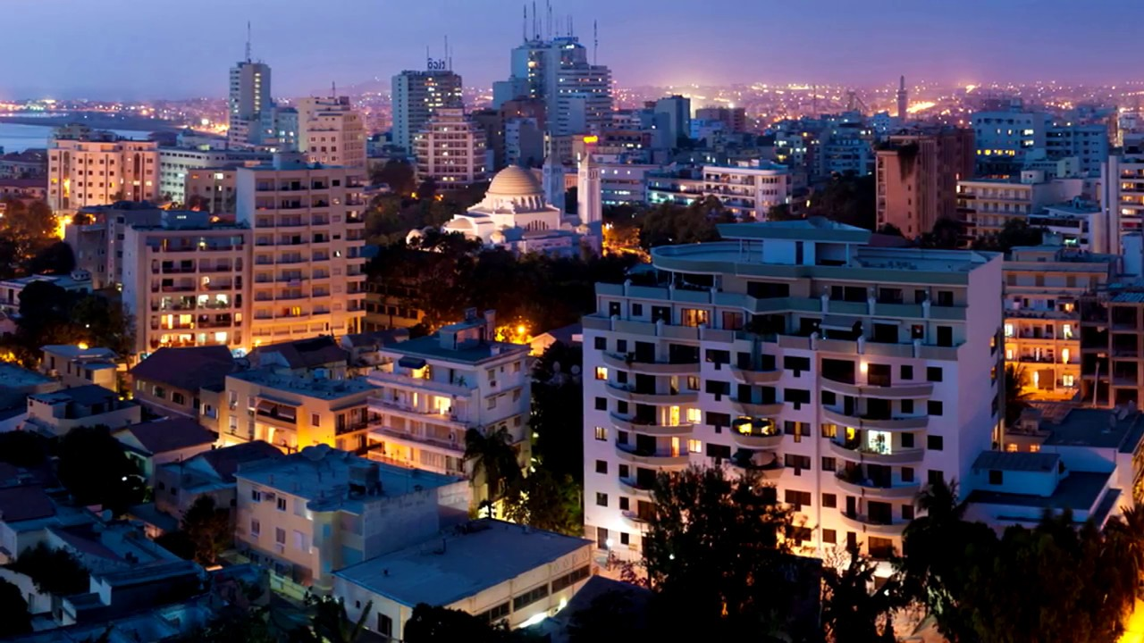 Dakar Capital Do Senegal Youtube