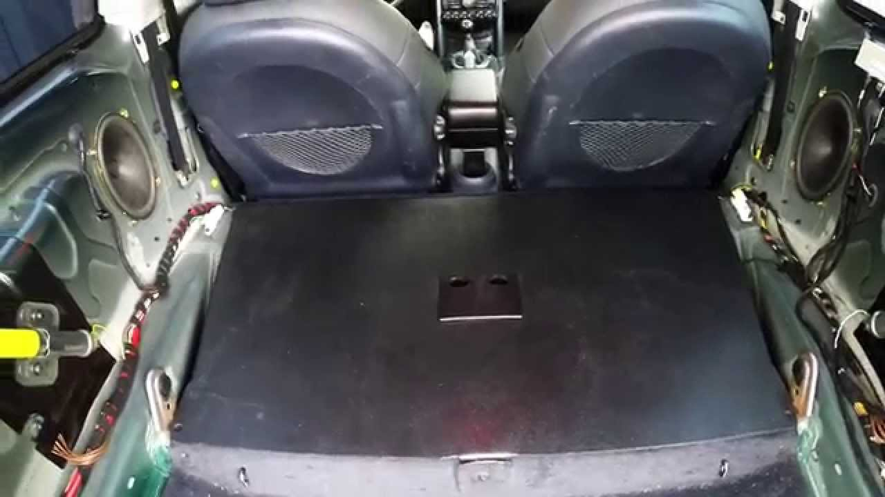 Review Rear Seat Delete Kit For R53 Youtube