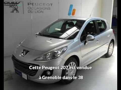peugeot 207 occasion visible grenoble pr sent e par peugeot grenoble youtube. Black Bedroom Furniture Sets. Home Design Ideas