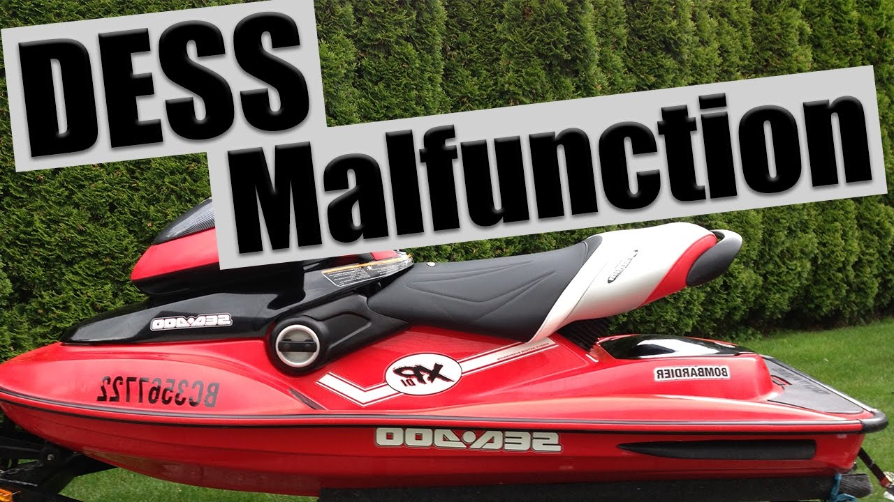 2004 Sea-Doo XP DI - DESS Post Malfunction - Electrical Problem