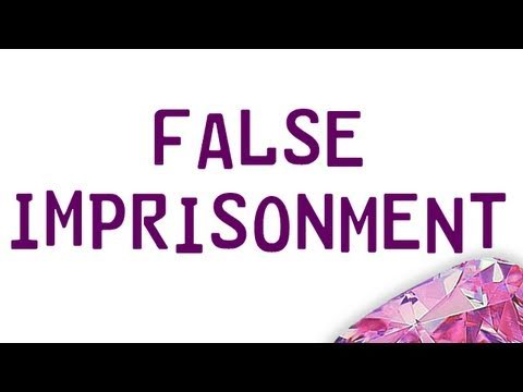 false imprisonment Attorney explains false imprisonment charges in tampa, hillsborough county, fl information in article includes types of false imprisonment charges, elements of the crime, jury instructions, defenses, enhanced penalties and punishments.