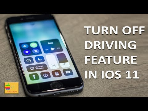 How To Turn Off Do Not Disturb While Driving On IPhone (iOS 11)