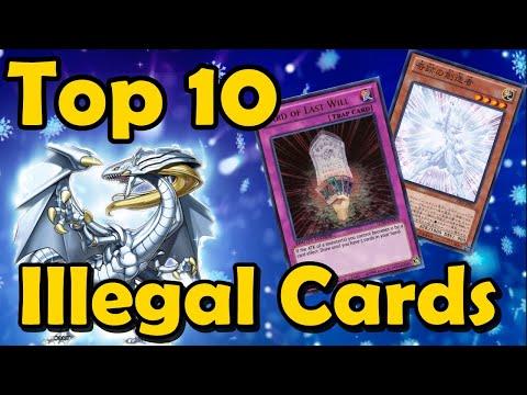 Top 10 Illegal Cards In YuGiOh