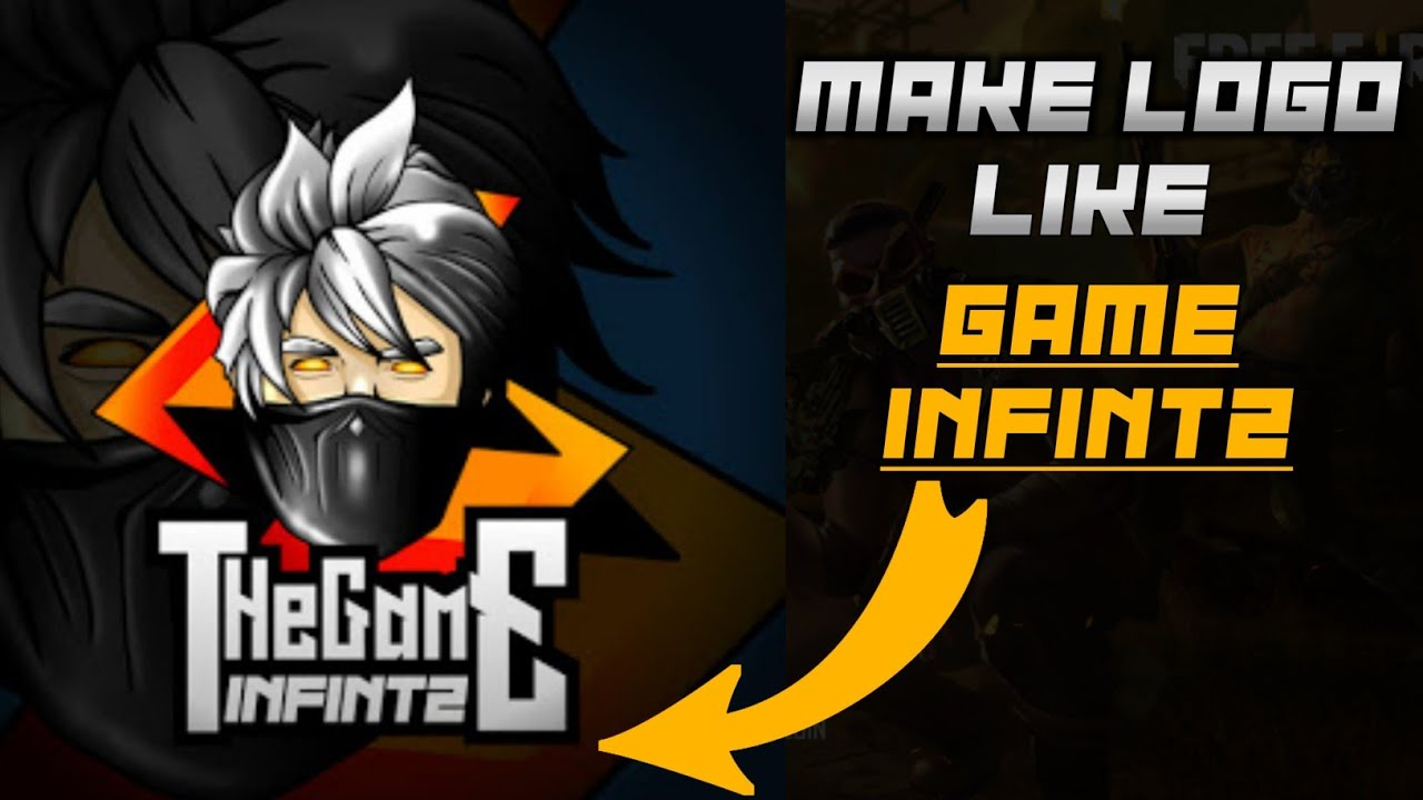 How To Make A Gaming Logo Like Game Infintz Android Free Fire Logo Aquas Brain Youtube