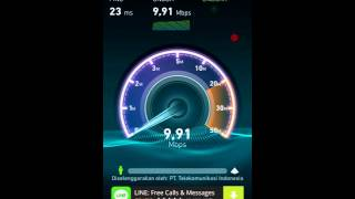 Speedtest #1 Telkomsel 4G LTE
