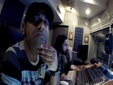 Mika Singh records Mirchi song with DSP - Yahoon Yahoon Song - Prabhas, Anushka Shetty