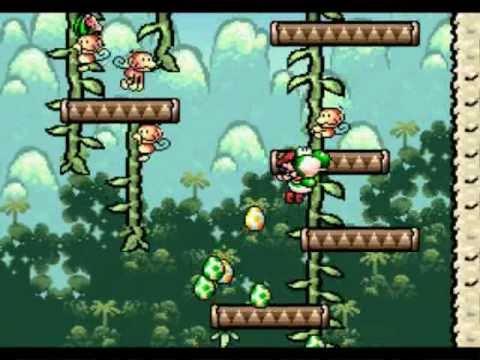 Yoshi S Island Monkey