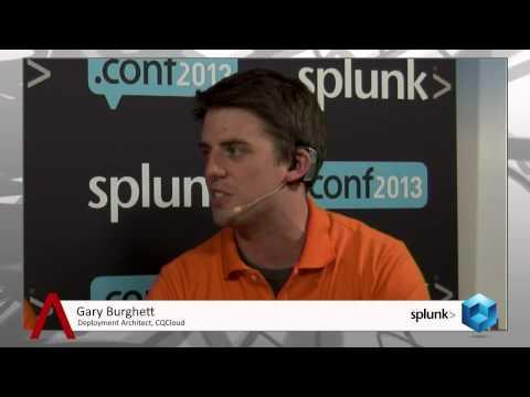 Gary Burghett & Peter Chang - Splunk.conf 2013 - theCUBE  - #SplunkConf