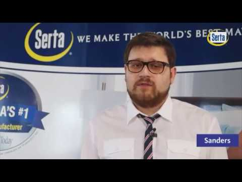 Матрас Serta Sanders