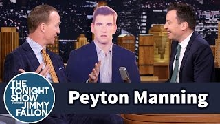 Peyton Manning Talks to Brother Eli