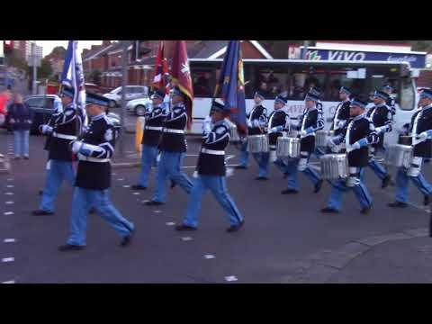 East Belfast Protestant Boys FB @ Fairhill FB 50th Anniversary Parade 2017