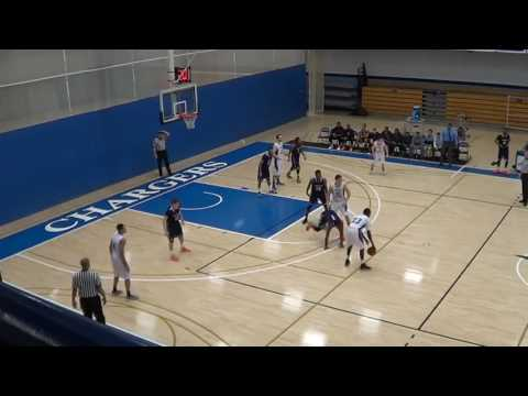 1/5/16 Men's Basketball Johnson State College  vs Colby Sawyer Chargers