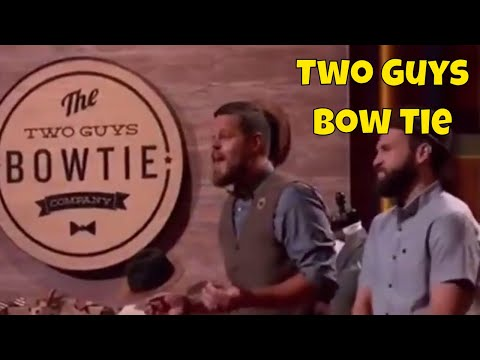 Shark Tank || Bow Tie Guys || Amazing
