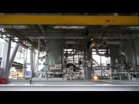 Fabrication of modules for FPSO Sevan Voyageur [HD]