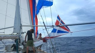 we blew up our favorite sail sailing vessel delos ep 123