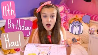 My 11th Birthday Haul! - Skye