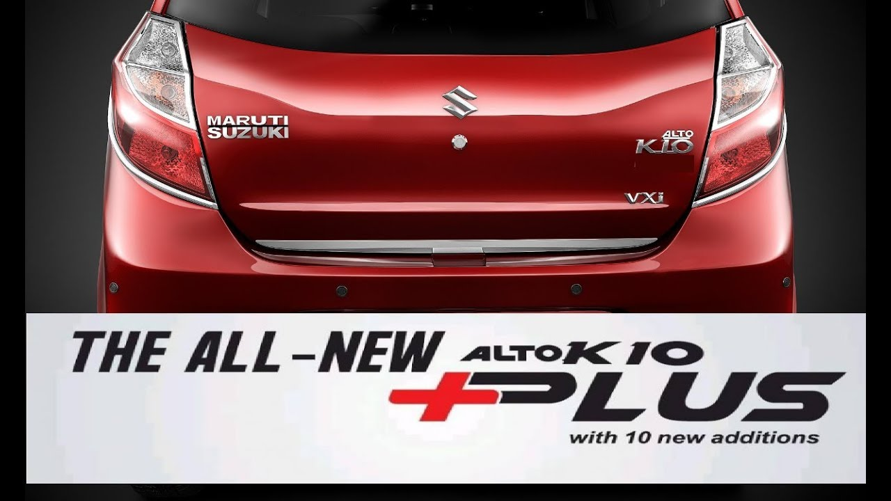 Maruti Alto K Plus Launched At Rs Lakh With New Features - Car body graphics for altomaruti altobrowzer features and price in india