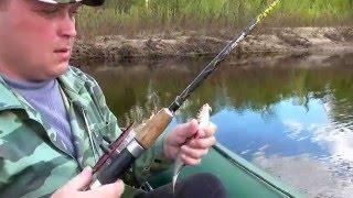 Рыбалка с лодки В проводку р Б Какша