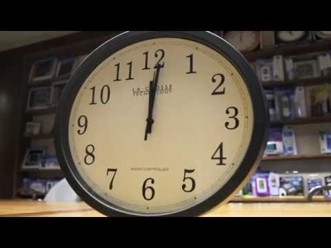 how to make a digital clock run backwards