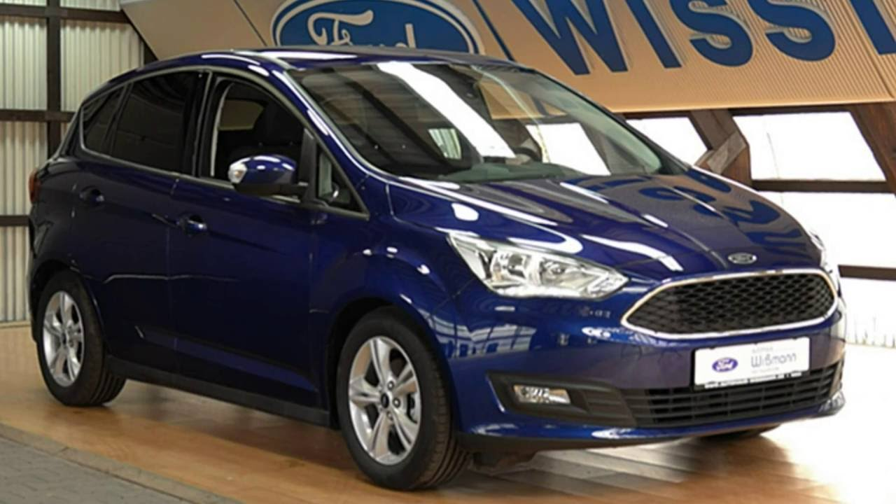 ford c max business trend gcevgc78847 indic blau autohaus wissmann youtube. Black Bedroom Furniture Sets. Home Design Ideas