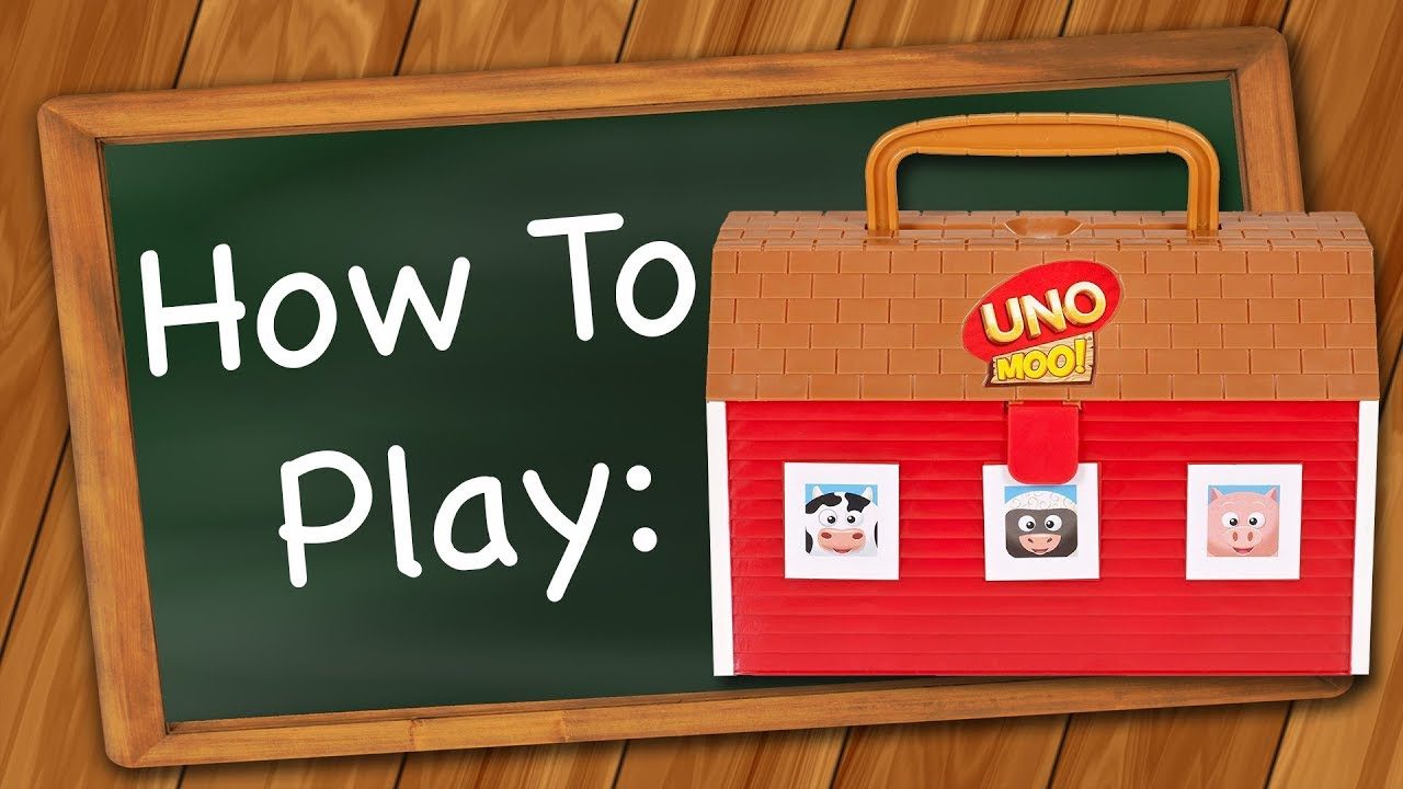 Uno moo how to play