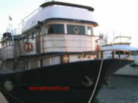 74 Turkey Black Sea Trawler Boat For Sale