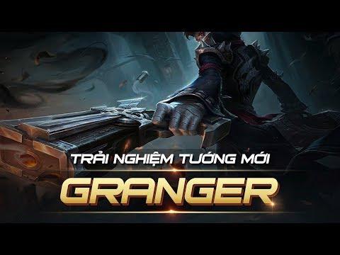 TRẢI NGHIỆM TƯỚNG MỚI GRANGER | MOBILE LEGENDS BANG BANG VIỆT NAM thumbnail